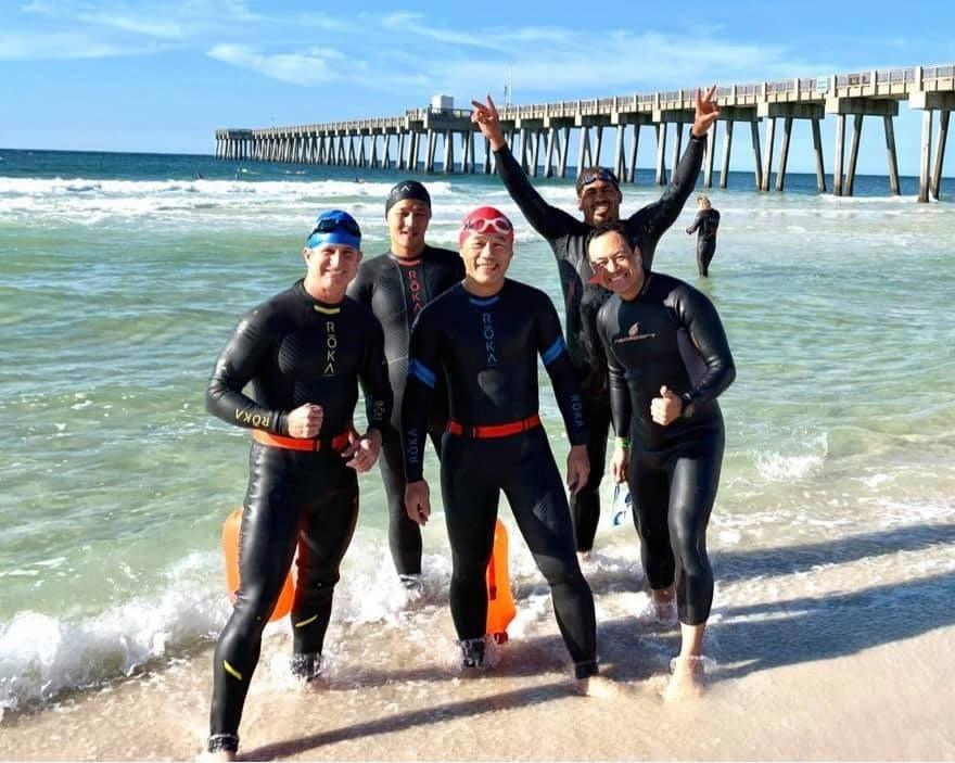 Ironman-Florida-Ocean-Swim-Practice