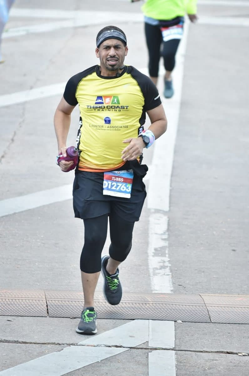 Chevron Houston Marathon Finish