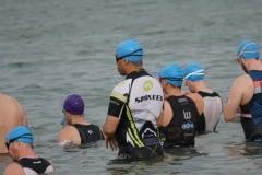 Swim Start - Lake Pflugerville Triathlon