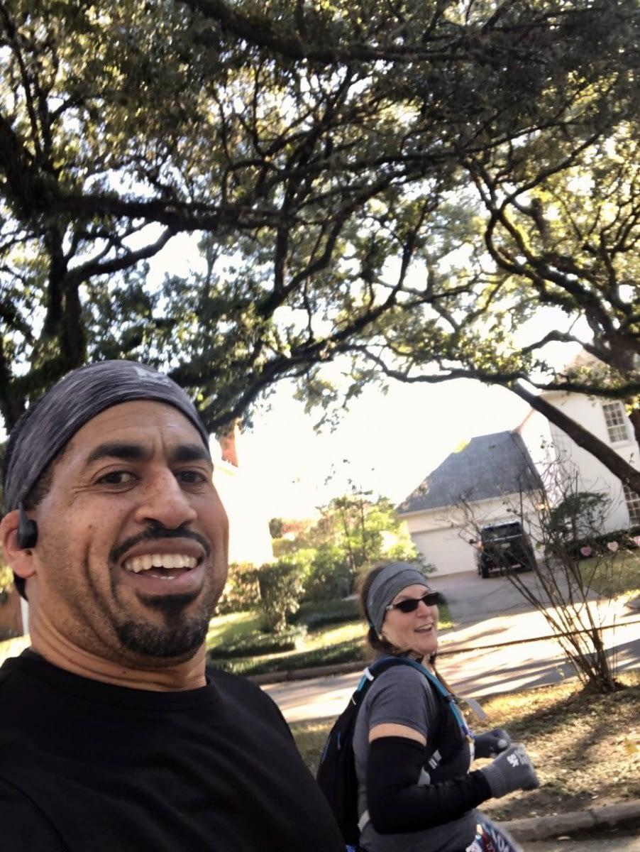 Running with Allie