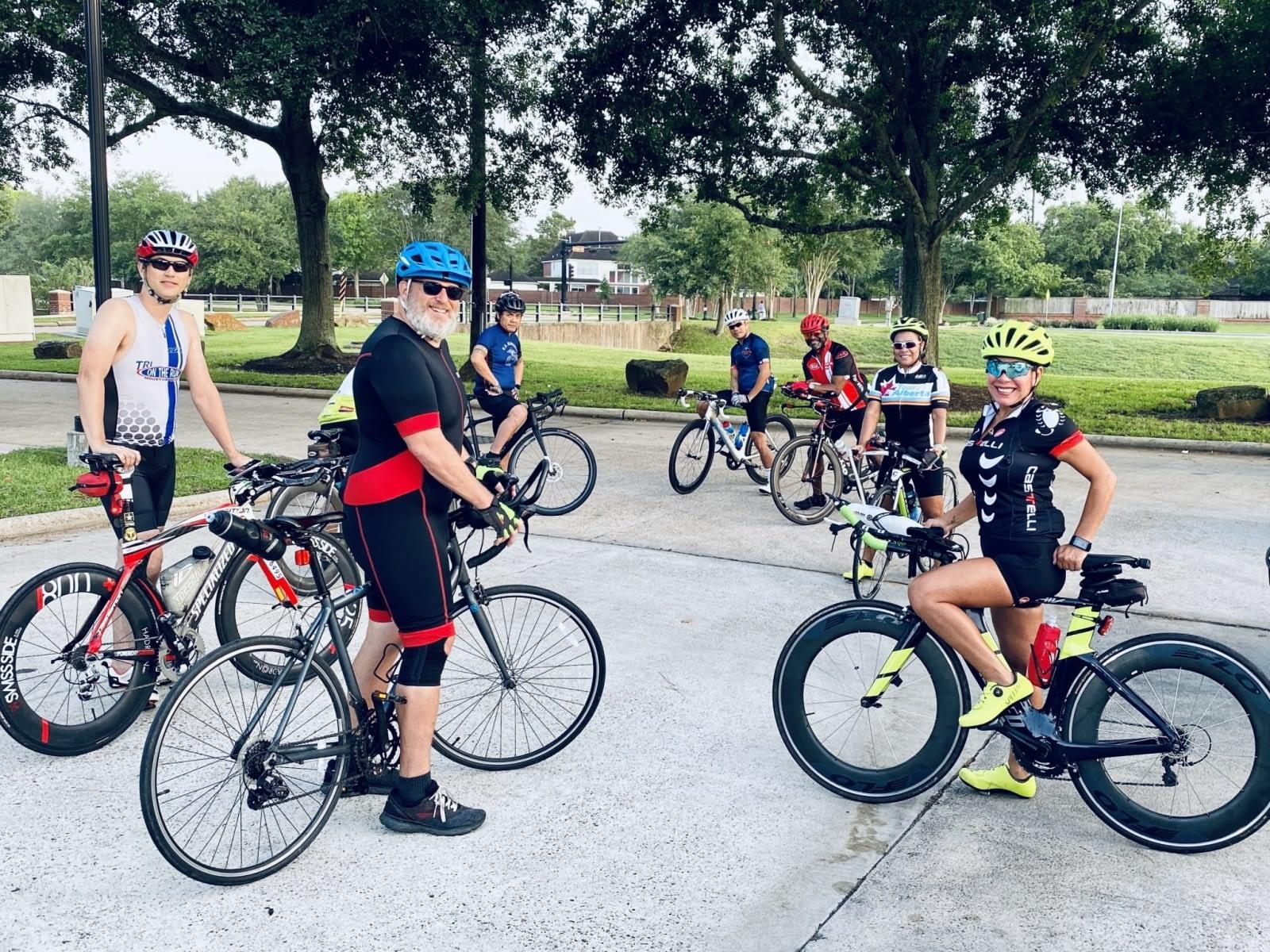 Group pre-ride