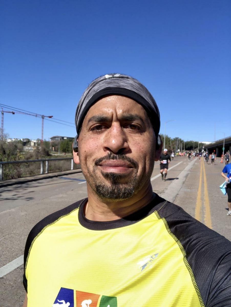Houston Marathon - Midcourse
