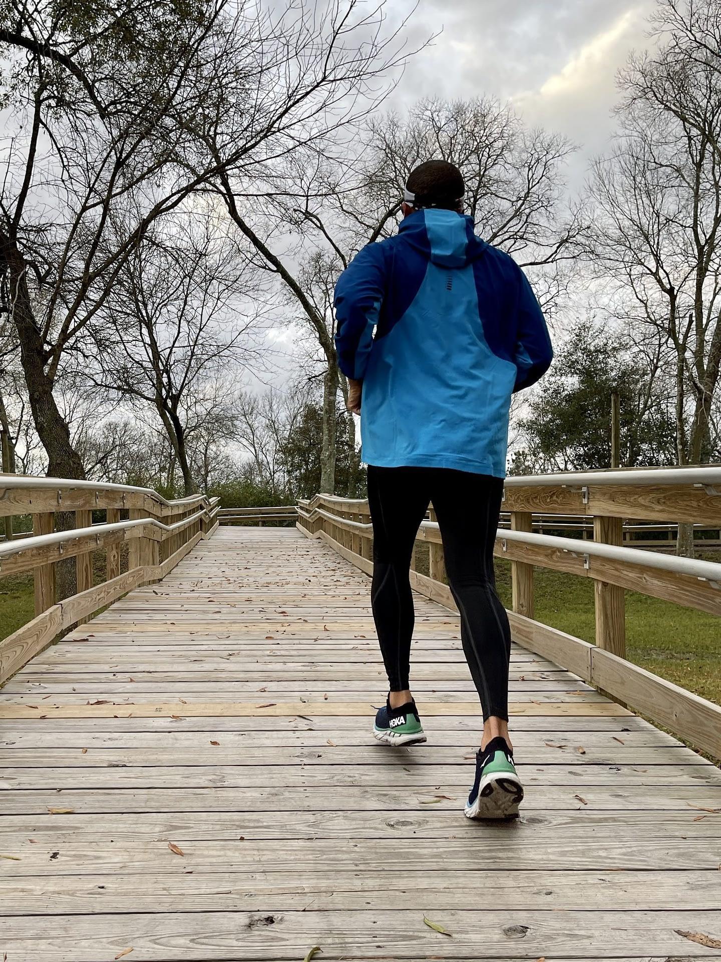 Surprise Improvement in Run Performance