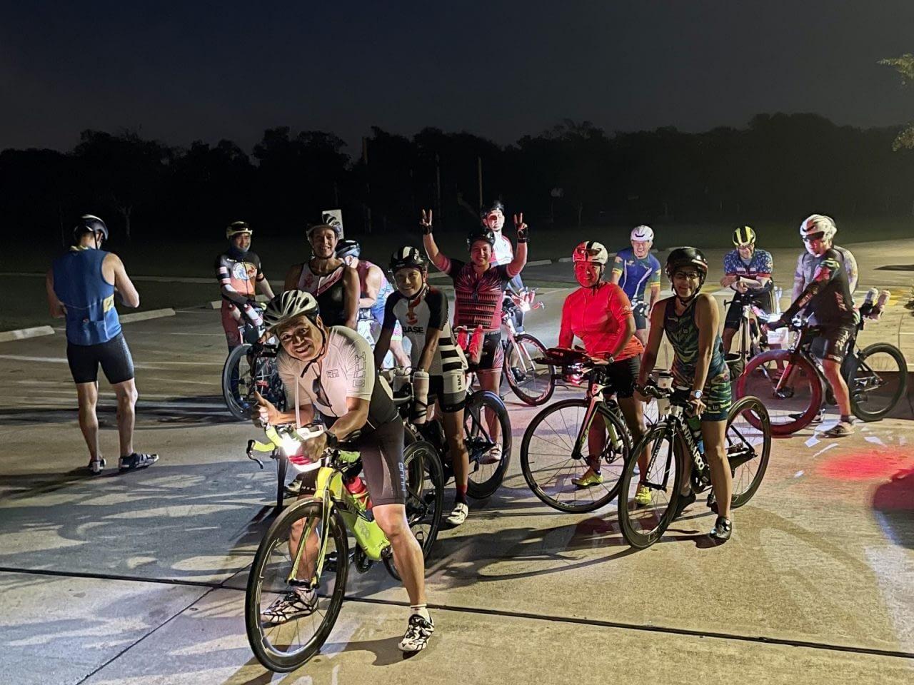 The tension between pushing hard vs riding to plan